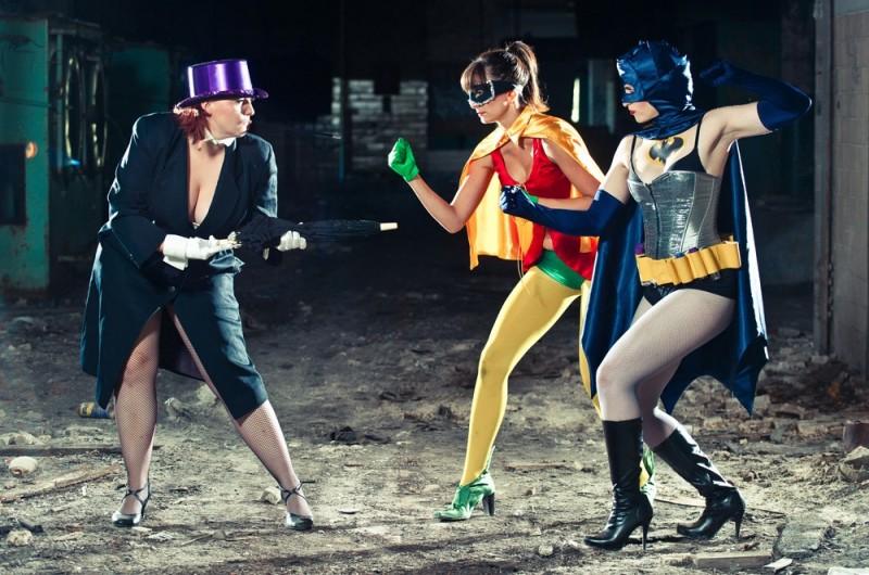 Gorilla Tango's HOLY BOUNCING BOOBIES! A BATMAN BURLESQUE Runs Aug. 4-Sept. 29th