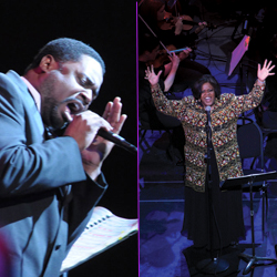 """Songs of a Dream""  Alfreda Burke and Roderick Dixon"