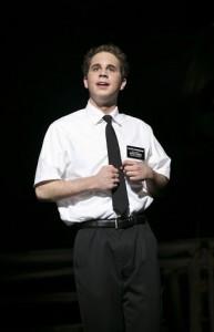 Ben Platt in The Book of Mormon 2nd National Tour  © Joan Marcus, 2012