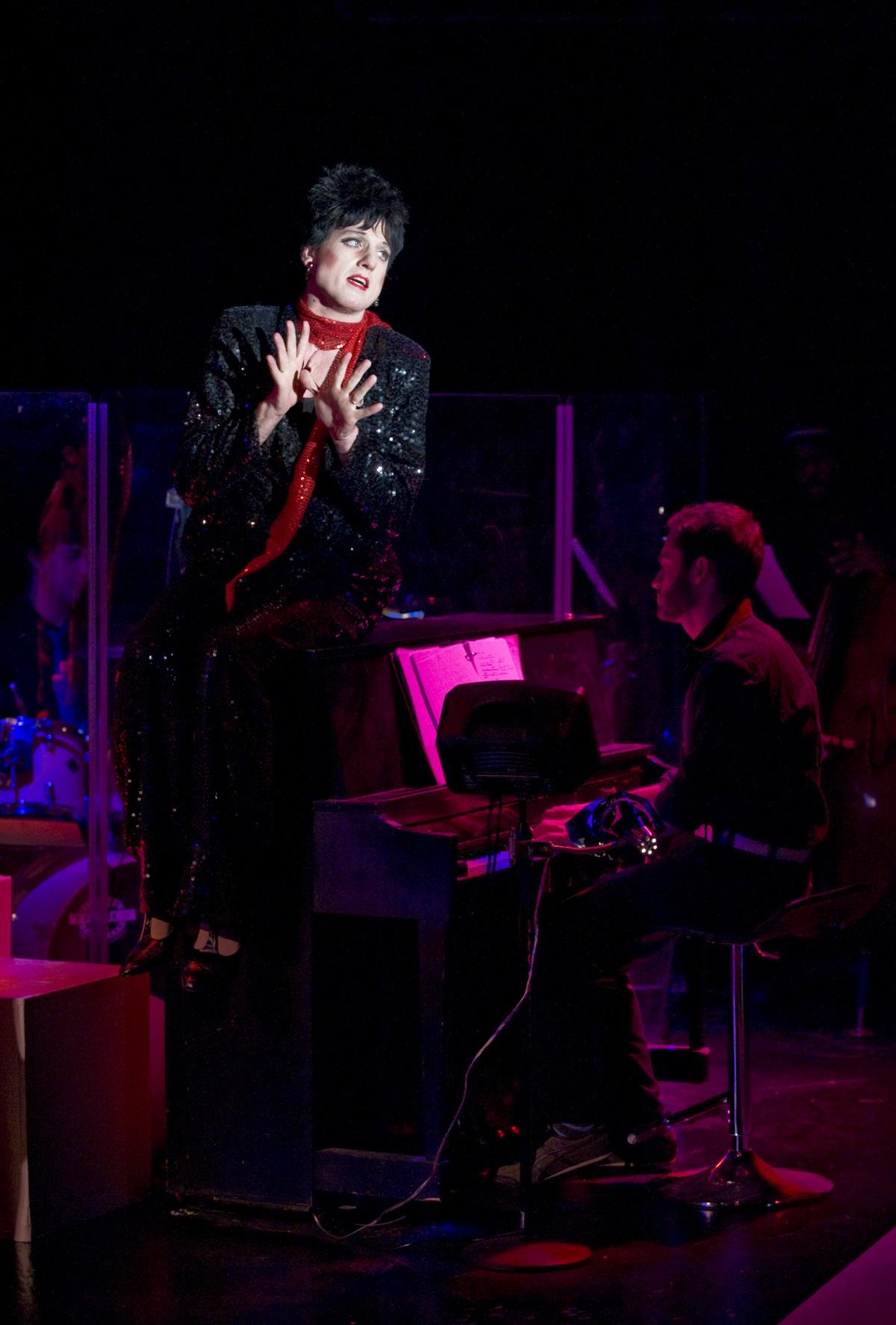 SHOWBIZ CHICAGO PAPARAZI!  About Face Theatre's WE THREE LIZA'S