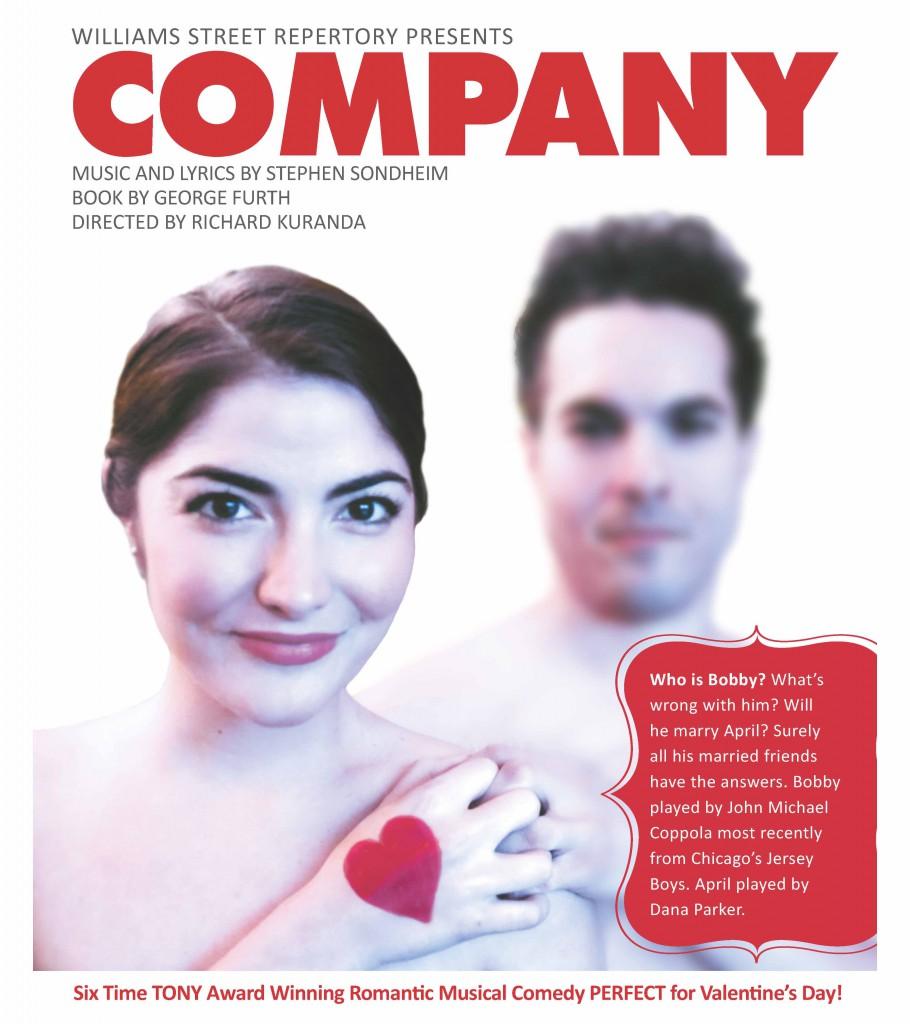 Raue Center For The Arts Presents COMPANY Starring John Michael Coppola, Feb. 1 - Feb. 16
