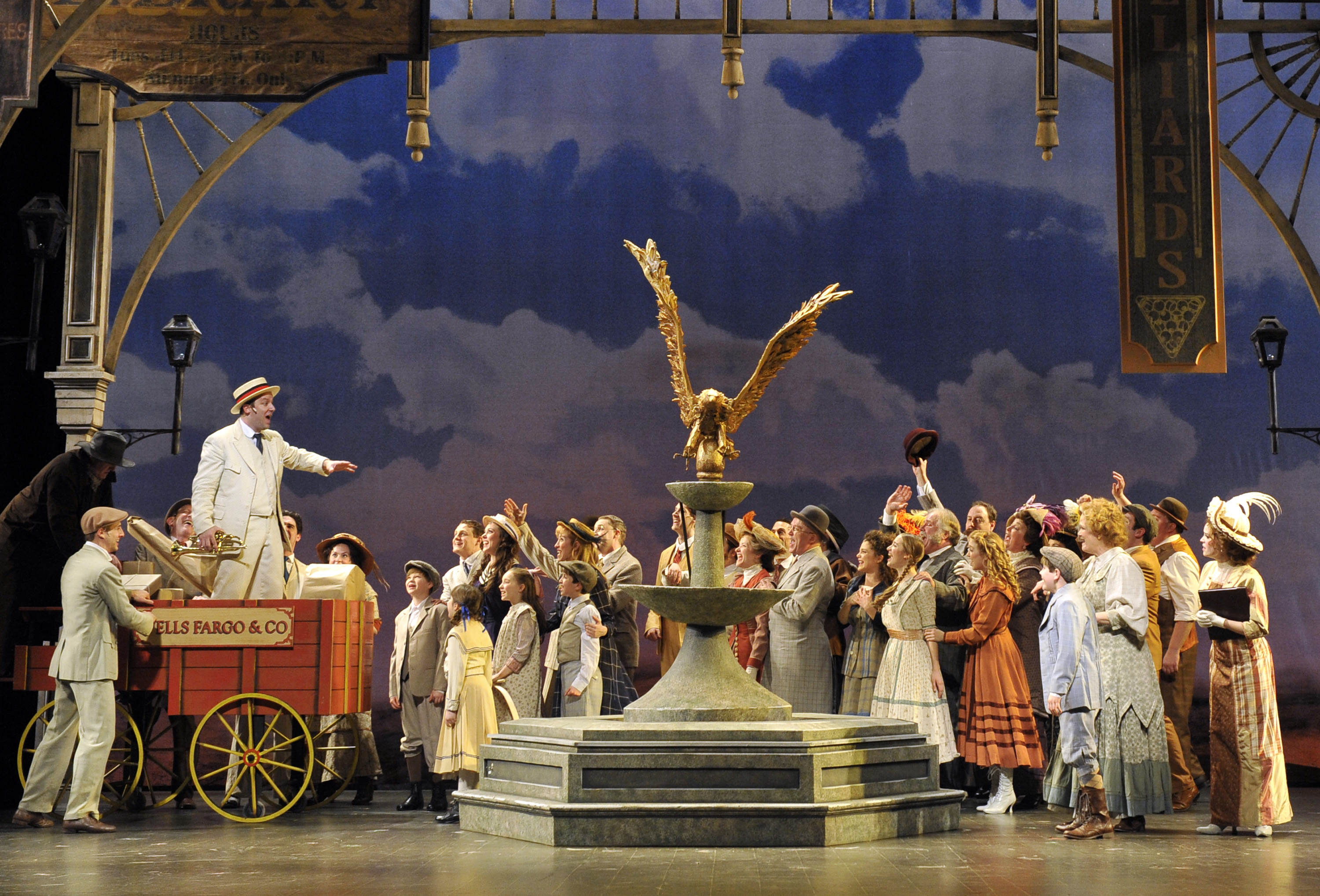 Paramount Theatre's THE MUSIC MAN Trumpets To Success 1 Meredith Wilson's The Music Man is indisputably on of the greatest musical ever created and under the masterful direction of Rachel Rockwell it is getting one of its best revivals in the last twenty years at Paramount Theatre.