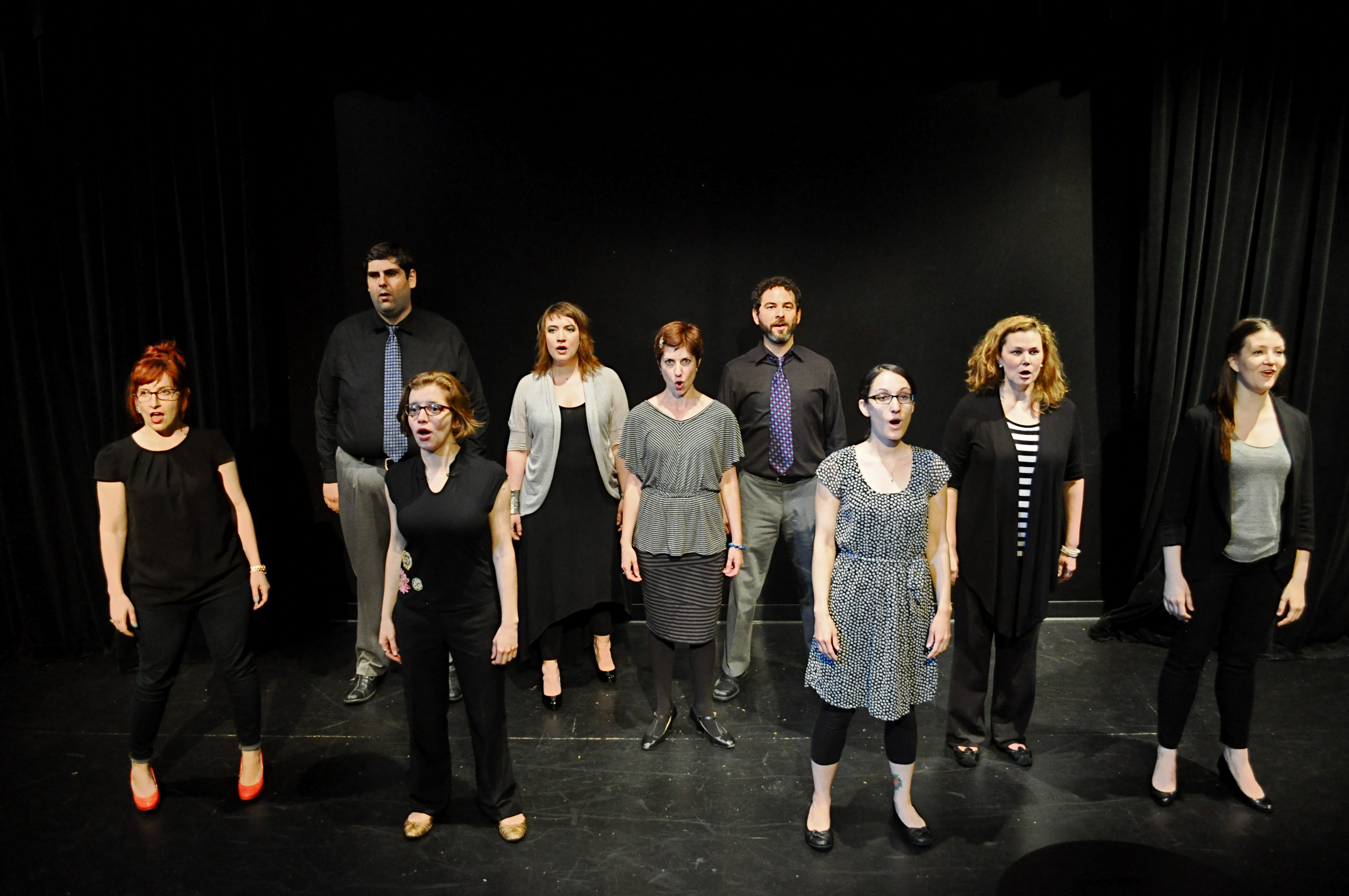 MCL CHICAGO ANNOUNCES WEEKLY SCHEDULE OF MUSIC, COMEDY AND LIVE PERFORMANCES FOR AUGUST 1  Improvised Sondheim Group -(Photo Credit Heather Scholl)