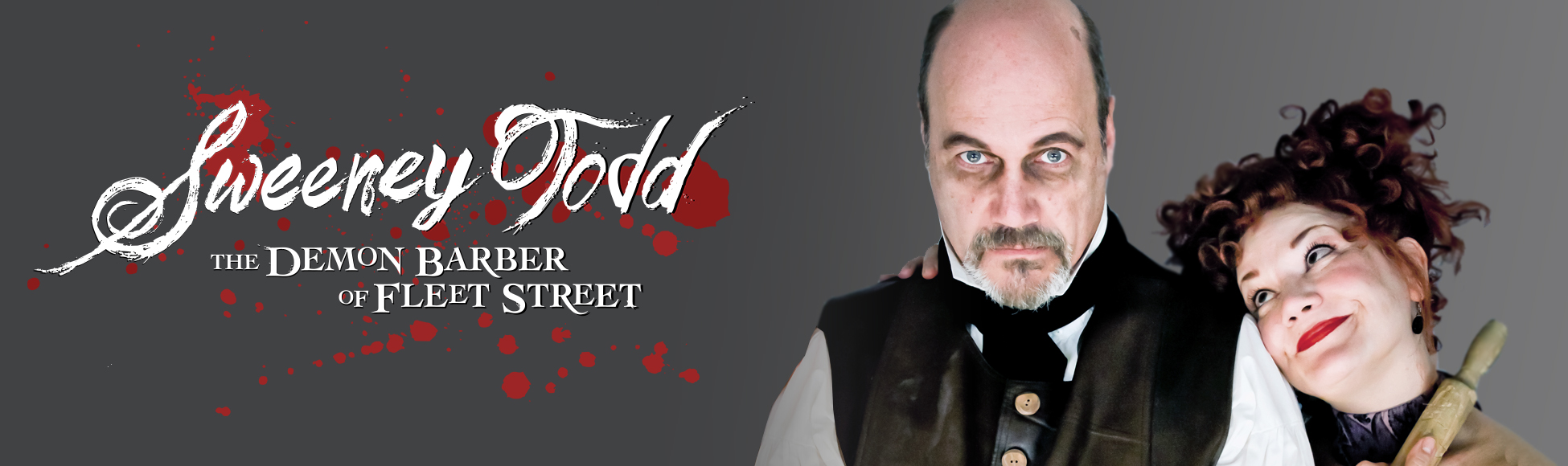 Porchlight's SWEENEY TODD Featuring David Girolmo & Rebecca Finnegan Runs Oct. 3- Nov. 9 2 Porchlight Music Theatre'smainstage20thAnniversary Season of Sondheimcommences withSweeney Todd: The Demon Barber of Fleet Street, music and lyrics byStephen Sondheimand book byHugh Wheeler, direction byPorchlight Managing Artistic DirectorMichael Weberwith music direction byPorchlight Artistic Associate Doug Peck, October 3–November 9 at Stage 773, 1225 W. Belmont Ave. Previews are Friday, Oct. 3 at 8 p.m., Saturday, Oct. 4 at 8 p.m., Sunday, Oct. 5 at 2 p.m. and Monday, Oct. 6 at 7:30 p.m.The regular run schedule is Thursdays at 7:30 p.m., Fridays at 8 p.m., Saturdays at 4 and 8 p.m. and Sundays at 2 p.m. There is an added matinee performance Thursday, Nov. 6 at 1 p.m. NOTE: *There are noThursday 7:30 p.m. performances October 9 and November 6.Tickets are $35 for preview performances, $50 for the opening night performance and reception, $39 for Thursday performances and $45 for all other performances. Subscriptions to the entire20th Anniversary Season,includingSweeney Todd,the first production of the season,Sondheim on SondheimandA Funny Thing Happened on the Way to the Forumare currently on sale as well as single tickets for the entire season. To purchase subscriptions or single tickets visitporchlightmusictheatre.orgor call 773.777.9884. Groups of ten or more may receive discounts on tickets purchased via Group Theater Tix at 312.423.6612 orgrouptheatertix.com.  One of Sondheim's most beloved pieces, based on the Victorian era serial, this Tony and Olivier Award-winning musical is a spine-chilling masterpiece of obsession, retribution and culinary curiosity telling the tale of London barber Benjamin Barker (Porchlight Artistic AssociateDavid Girolmo). Torn from his family and exiled for 15 years on a miscarriage of justice, Barker returns home to a city as corrupt as when he left. Hell-bent on revenge after learning the agonizing fate of his wife and daughter, he assumes t