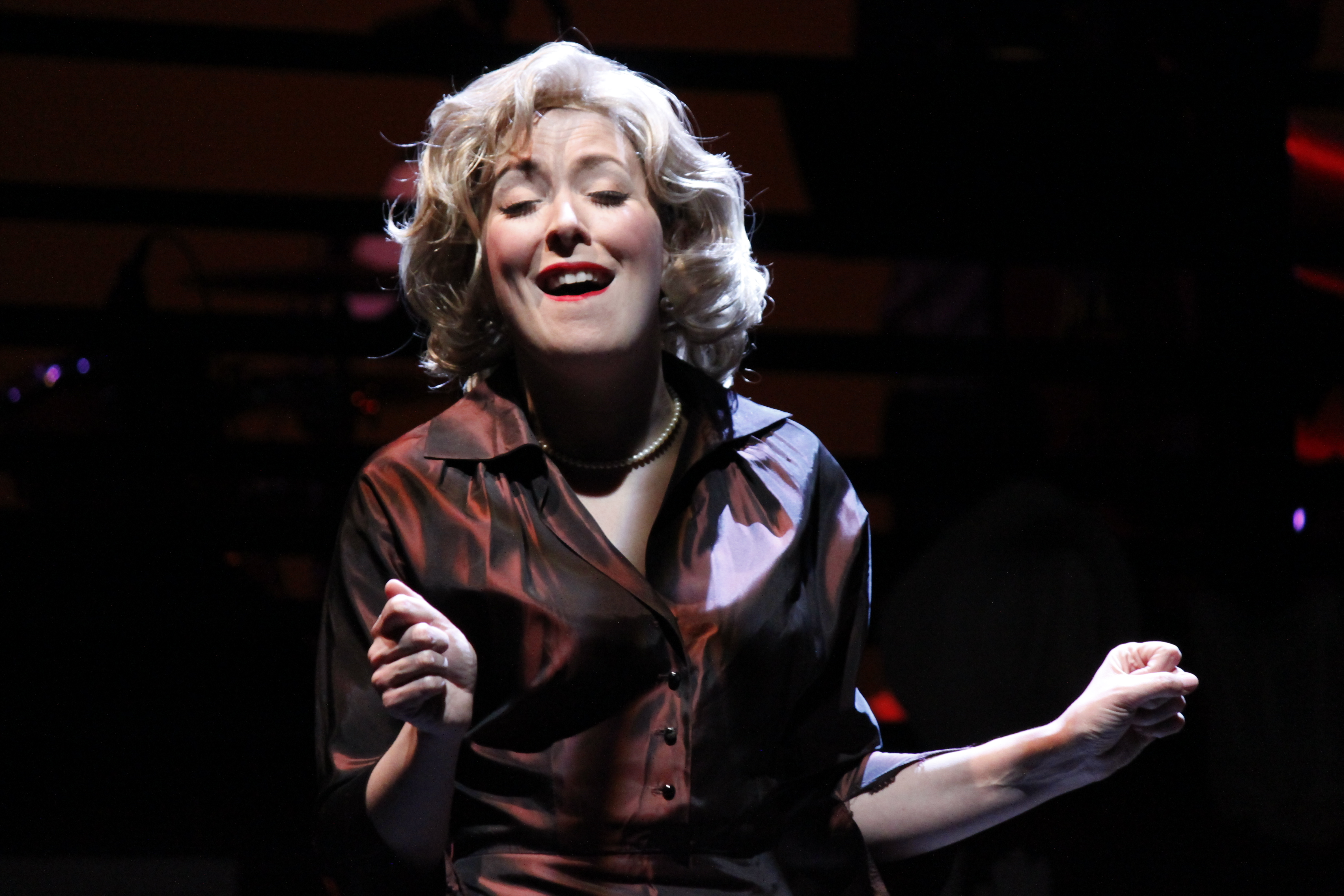 """Celebrate Valentine's Day with the Chicago Premiere of """"Tenderly: The Rosemary Clooney Musical"""" at the Raue Center 1 Celebrate Valentine's Day with Williams Street Repertory as they present the Chicago Premiere of """"Tenderly: The Rosemary Clooney Musical."""" America's sweetheart comes home in this exhilarating and inspiring musical biography.Make the day extra sweet with champagne and chocolates for two with the special Valentine's Day Weekend Package! Guests who purchase the package will enjoy two dark chocolate truffles with a smooth center courtesy of Mellie's Chocolate & Co. in downtown Crystal Lake as well as two pours of house Sparkling White Pierre Delize champagne."""