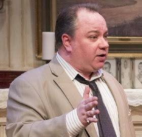 Jon Steinhagen in Raven Theatre's 2015 production of Dividing the Estate (Photo by Dean La Prairie)