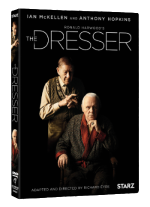 THE DRESSER with Ian McKellen & Anthony Hopkins  Available on DVD July 8