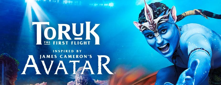 "Cirque du Soleil ""TORUK-THE FIRST FLIGHT"" RUNS AUG. 3-7"