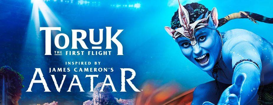 """Cirque du Soleil """"TORUK-THE FIRST FLIGHT"""" RUNS AUG. 3-7"""