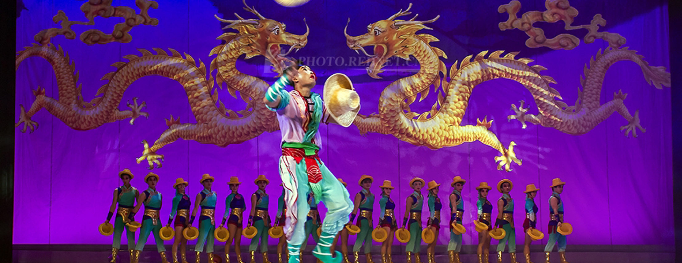 Shanghai Acrobats at Orlando's Dr. Phillips Center in December