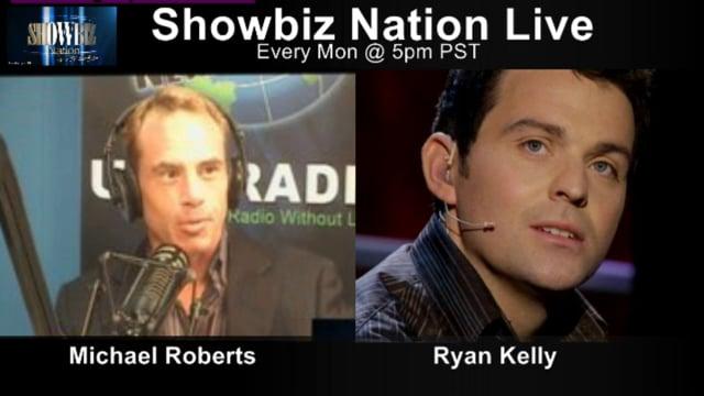 SHOWBIZ NATION LIVE! November 2, 2014: Guests SUSAN WERNER and CELTIC THUNDER'S RYAN KELLY