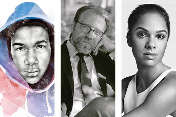George Saunders, Misty Copeland, and Sybrina Fulton & Tracy Martin headline CHF's Winter programs 2The Chicago Humanities Festival is pleased to announce that Chicago-area native and short story master George Saunders, Misty Copeland, the first African American woman to be the principal dancer with the American Ballet Theatre, and Sybrina Fulton and Tracy Martin, parents of Trayvon Martin, will headline CHF's Winter line-up with programs in February and March.Fulton and Martin come to Chicago for a pair of intimate evenings to discuss the life of their son and the renewed, national conversation on equity and justice for people of color in America that followed his death. The Chicago Urban League and DuSable Museum of African American History are partnering with CHF for the February 16 and February 17programs. The February 17 event will take place at the DuSable Museum. On March 2, Saunders will discuss his much-anticipated first novel, Lincoln in the Bardo. Set, for the most part, over the course of a single night, Saunders reimagines the death of Willie Lincoln, its effect on the grief-stricken President, and how young Willie navigates the bardo, a sort of purgatory between life and the afterlife.Copeland has singularly redefined the expectations of who can be a principal ballerina, all while inspiring a new generation to try their hand at ballet.She comes to CHF to discuss her path to the stage of the Metropolitan Opera House, the challenge of diversifying classical ballet, and perseverance in the face of poverty, racism, and injury. Copeland will wrap up the CHF NOW's Winter program series on March 23. Award winning journalist and broadcasterRobin Robinson will join Copeland in conversation.Ticket Information: Tickets for CHFNow's Winter 2017 schedule go on sale to CHF members on Wednesday, January 4, and to the general public on Thursday, January 12. Tickets can be purchased at tickets.chicagohumanities.org.Thursday, February 16 | First United Methodist Church |