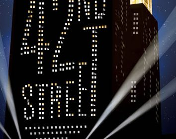 """Gene Weygandt, Suzzanne Douglas Shuffle Off to Drury Lane Theatre's """"42nd Street"""" 1 Drury Lane Theatre continues its 2017-2018 season with42ndStreet, with music byHarry Warren,lyrics byAl Dubin,book byMichael Stewart and Mark Bramble,andoriginal Broadway direction and dances byGower Champion. 42ndStreetis based on the novel byBradford Ropesand was originally produced on Broadway byDavid Merrick.This productionis directed byMichael Heitzmanwith choreography byJared Grimes.42ndStreetrunsOctober 26, 2017 – January 7, 2018at Drury Lane Theatre, 100 Drury Lane in Oakbrook Terrace."""
