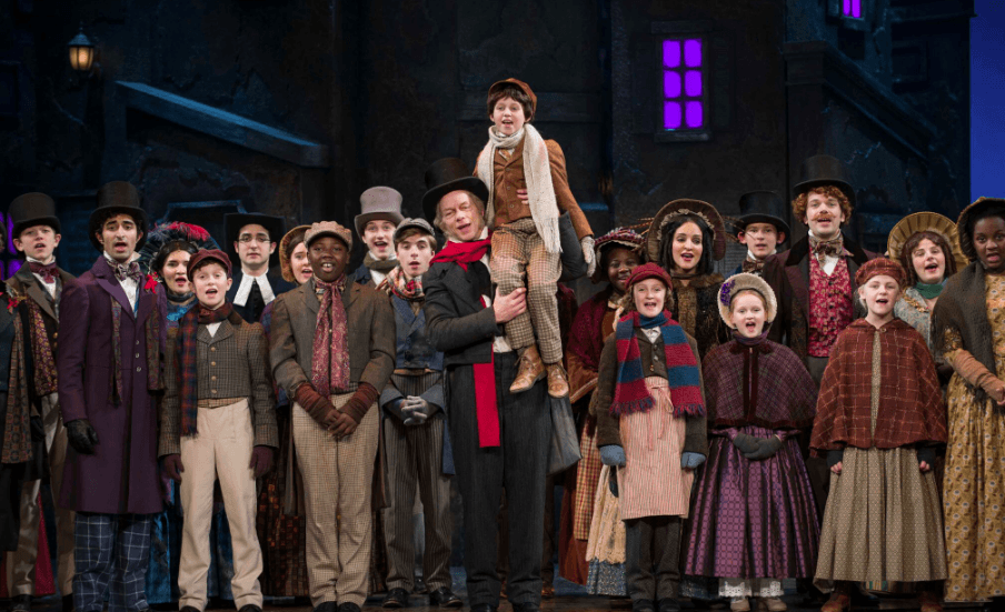 """A Humanized Scrooge Highlights Milwaukee Rep's Masterful """"A Christmas Carol"""" 3 Reviewed by: Matthew Perta"""