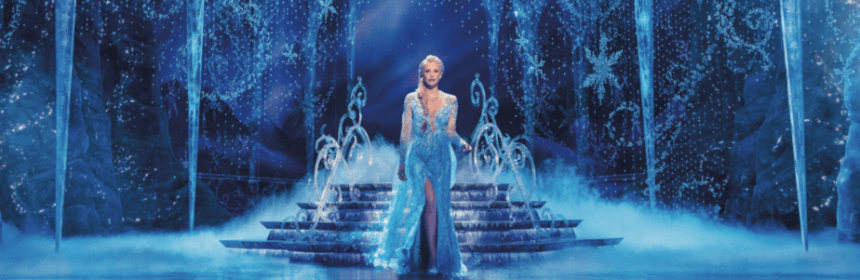 Disney's <em>FROZEN</em> Tickets On Sale March 13 1 Broadway In Chicago is pleased to announce that tickets to Disney'sFrozenwill go on sale Friday, March 13, 2020. From the producer ofThe Lion KingandAladdin,Frozen, the Tony®-nominated Best Musical, will play an exclusive 11-week premiere engagement at Broadway In Chicago's Cadillac Palace Theatre (151 W. Randolph) from October 21, 2020 through January 3, 2021.
