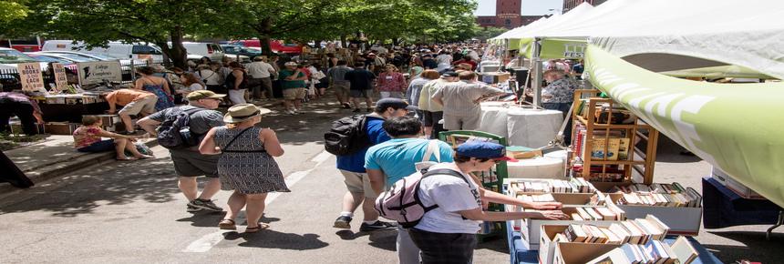 36th Annual <em>Printers Row Lit Fest</em> Postponed Until  Labor Day Weekend